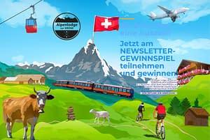 Schweiz-Panorama-Auszeit-Wettbewerb / Gewinnspiel