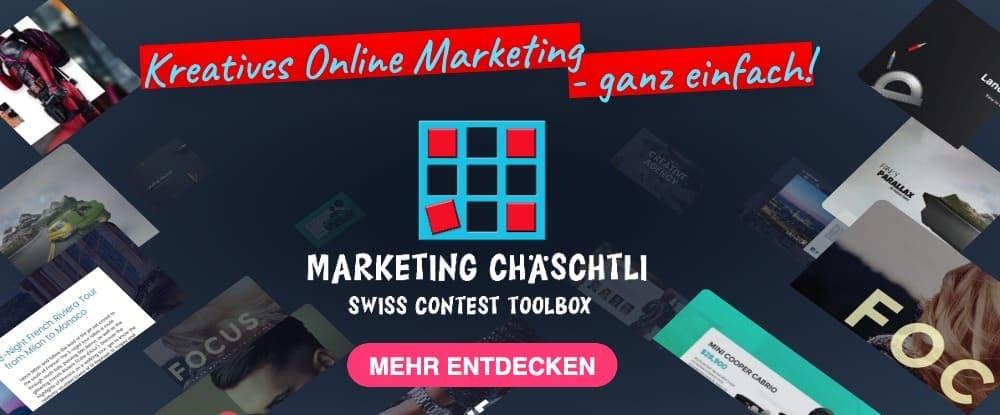 Startseite Marketing Chäschtli Webseite 2
