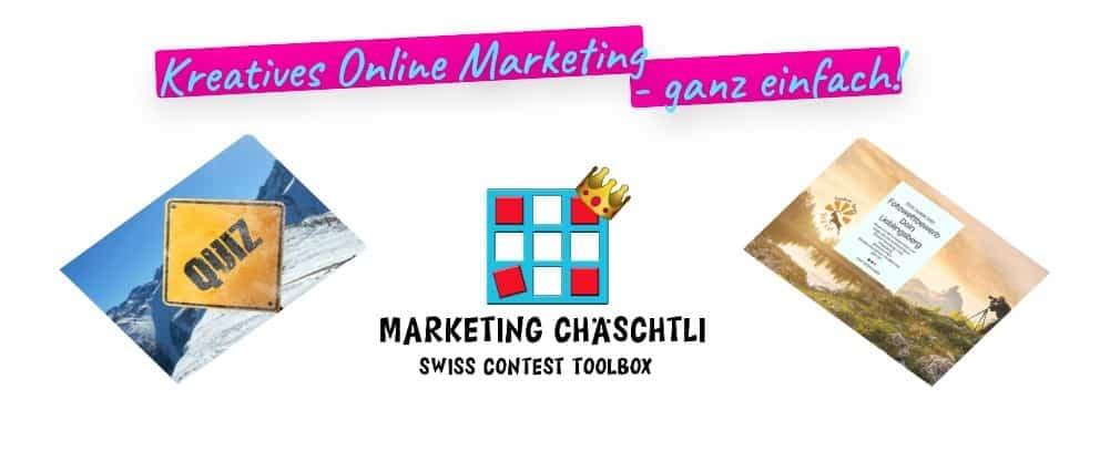 Marketing Chäschtli Slider Quiz