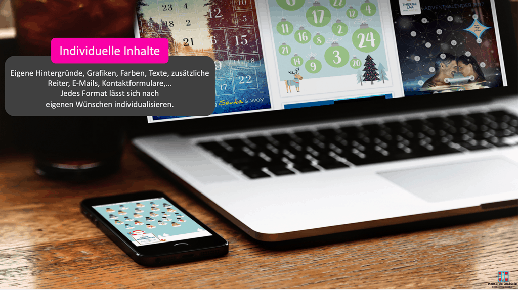 Online Marketing Toolbox - online Adventskalender