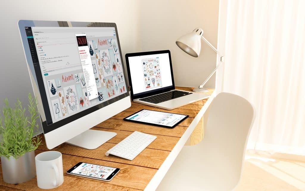 4 Screens - Online Adventskalender für KMU