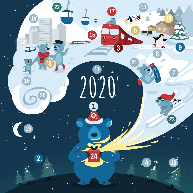 FAIRTIQ Adventskalender 2020