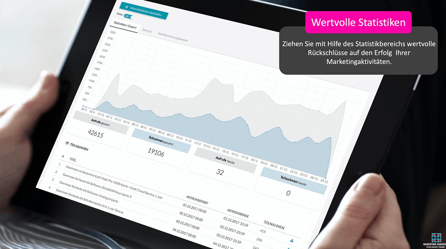 Online Marketing Toolbox - Statistik