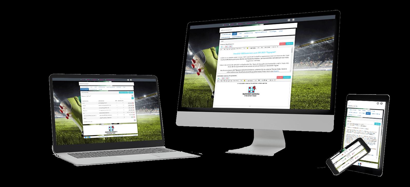 EM Fussball Tippspiel für Unternehmen