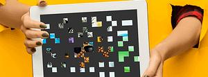 online Pixelbild für Unternehmen - Paralax Tablet