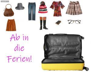 Koffer packen Beispiel 1
