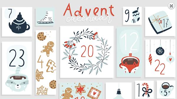snipped online Adventskalender Unternehmen
