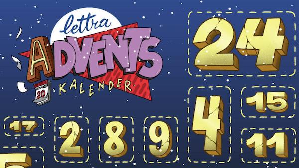 Lettra Design - online Adventskalender 2020