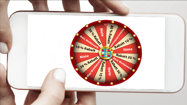 online Glücksrad / Lead Booster - Games