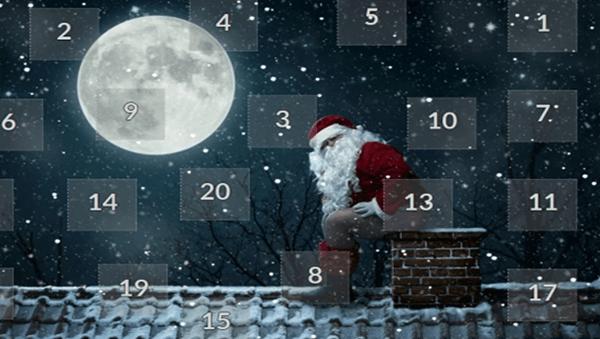 snipped online Adventskalender Weihnachtsmann